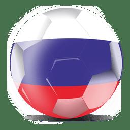 Bandera del fútbol de rusia