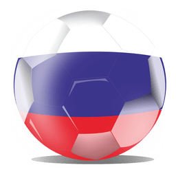 Russia football flag