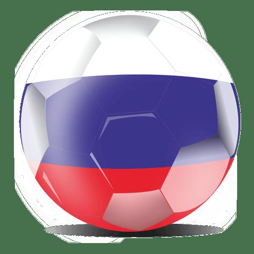 Bandeira do futebol da Rússia Transparent PNG