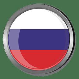 Bandera redonda rusia