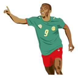 Samuel etoo cartoon