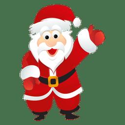 Weihnachtsmann-Cartoon 7