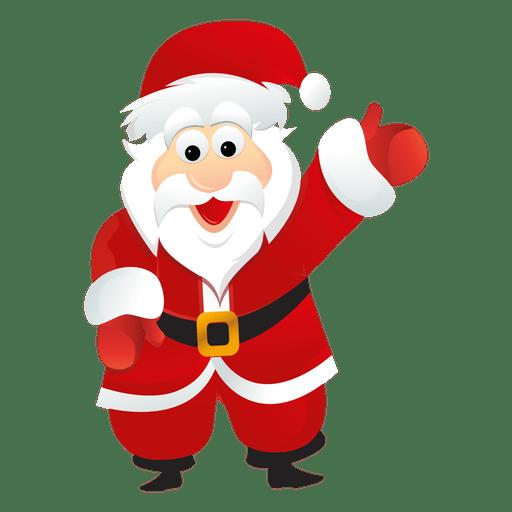 Desenho de Papai Noel 7