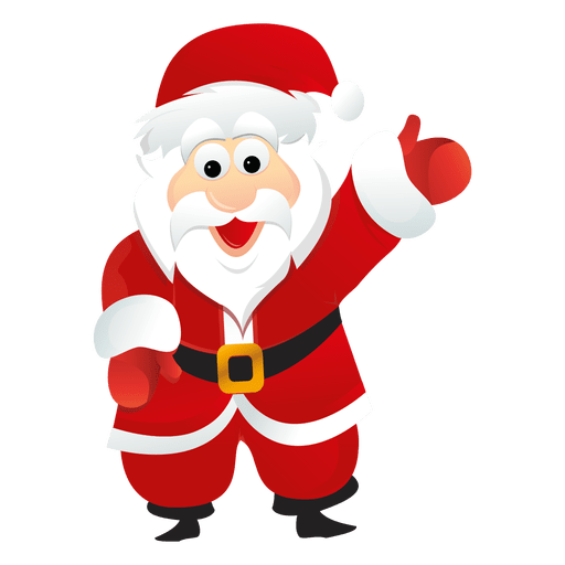 Santa claus cartoon 7 Transparent PNG