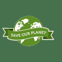 Salve nosso distintivo de planeta