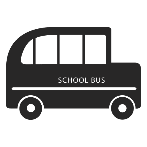 School bus side Transparent PNG