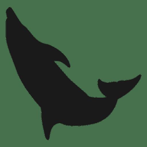 Silueta de tiburon Transparent PNG