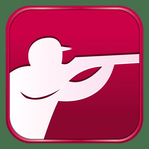 Icono de disparo cuadrado Transparent PNG