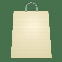 Bolsa de compras en blanco