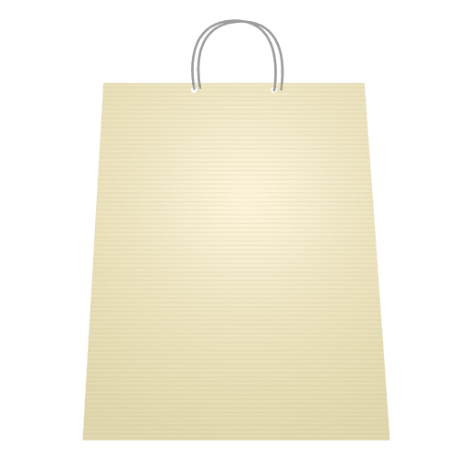 Shopping bag blank - Transparent PNG & SVG vector file