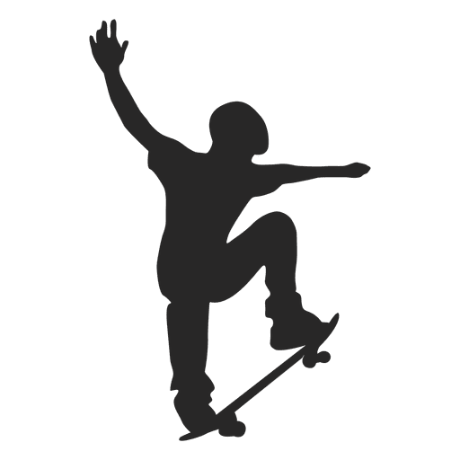 Skateboard silhouette 2 - Transparent PNG & SVG vector