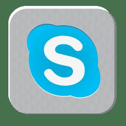 Skype rubber icon
