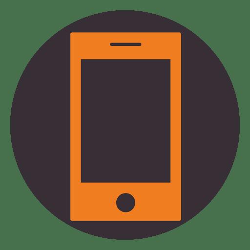 Smartphone round frame - Transparent PNG & SVG vector file