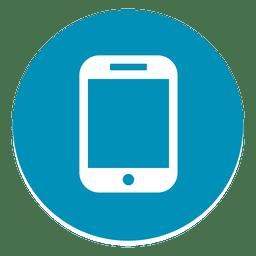 Smartphone round icon