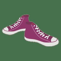 Dibujos animados de zapatillas 2