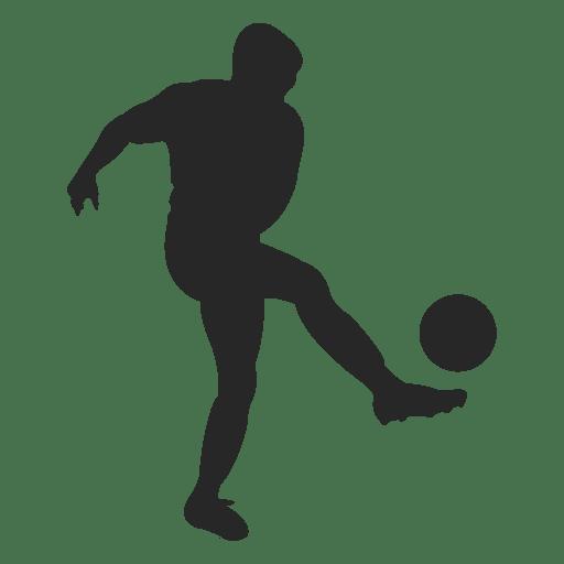 Soccer player hitting - Transparent PNG & SVG vector