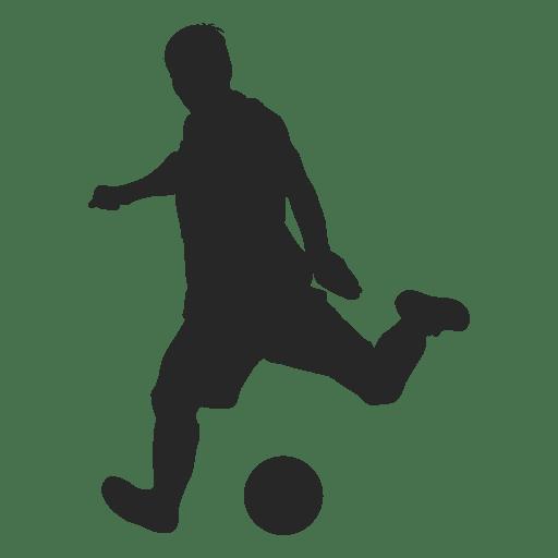 Soccer player kicking ball 1 Transparent PNG