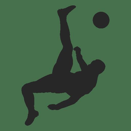 Soccer player kicking ball 2 Transparent PNG