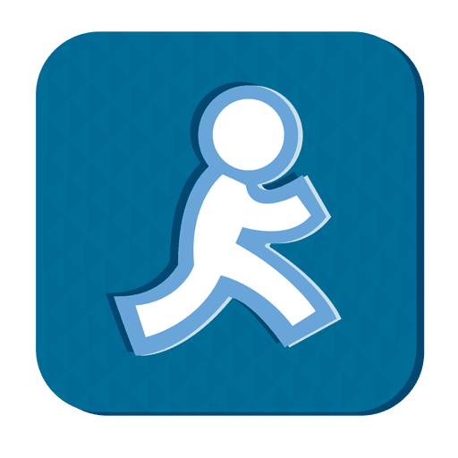 Social media rubber icon Transparent PNG