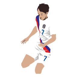 Son heung min cartoon