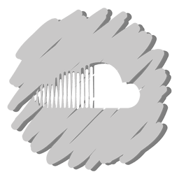 Soundcloud distorted icon