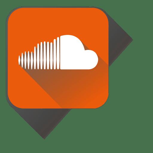 Soundcloud squared icon - Transparent PNG & SVG vector