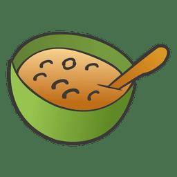 Sopa en un bol