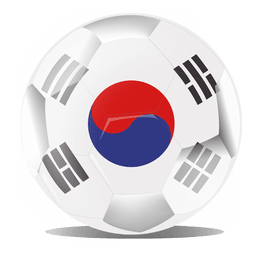 South korea football flag