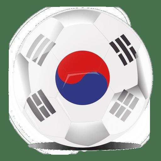 South korea football flag Transparent PNG