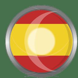 Crachá bandeira de Espanha