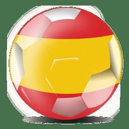 Spain football flag
