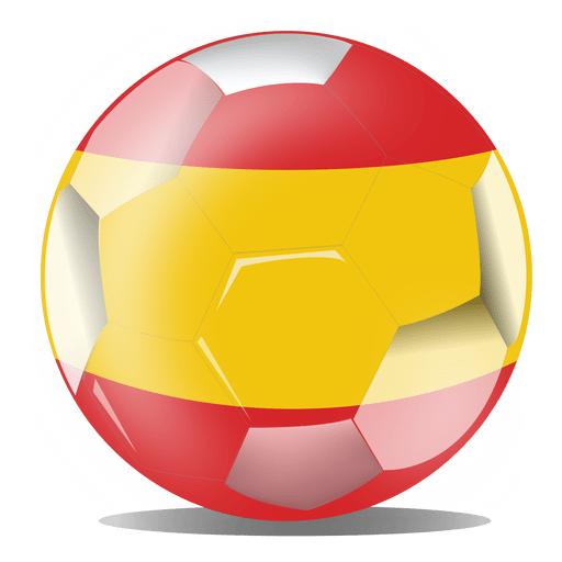 Spain football flag Transparent PNG