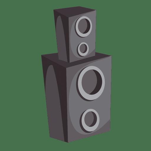 Caixas de alto-falante Transparent PNG