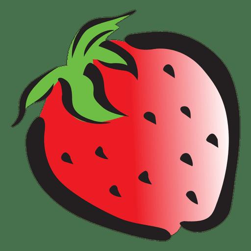 Strawberry cartoon Transparent PNG