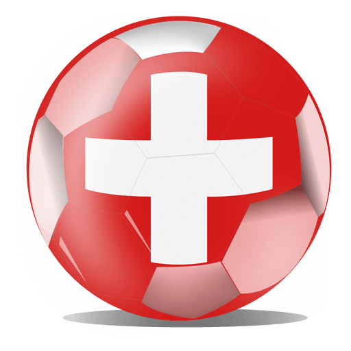 Switzerland football flag Transparent PNG