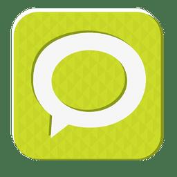 Icono de goma de Technorati