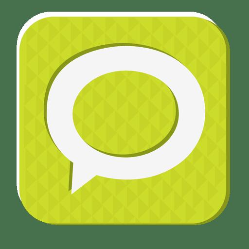 Technorati rubber icon Transparent PNG