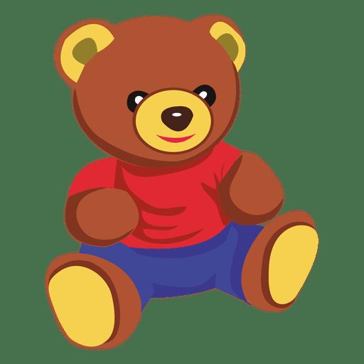 Dibujos animados de oso de peluche Transparent PNG