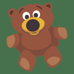 muñeca del oso de peluche