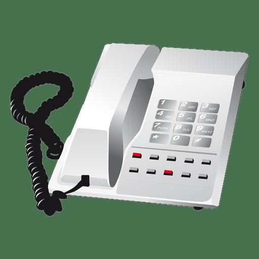 Icono de teléfono Transparent PNG