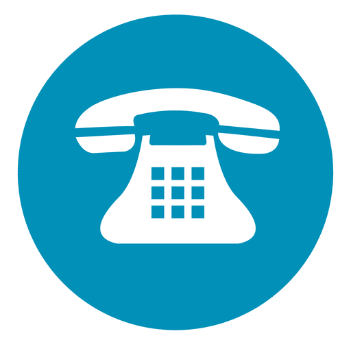 telephone round icon transparent png amp svg vector