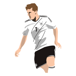 Thomas muller cartoon