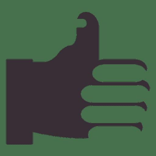 Polegares para cima como ícone Transparent PNG