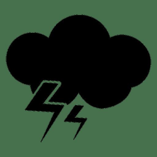 Icono de tormenta Transparent PNG