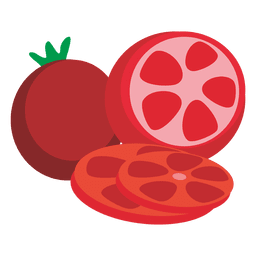 Tomatoes cartoon