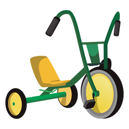 Brinquedo triciclo
