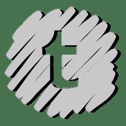 Tumblr distorted icon