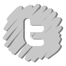 Twitter distorsionado icono
