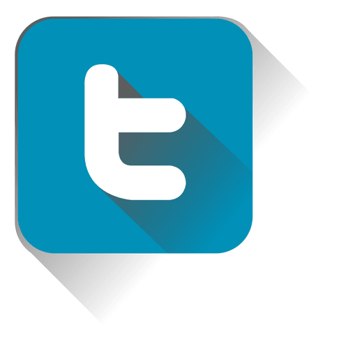 Twitter squared icon Transparent PNG
