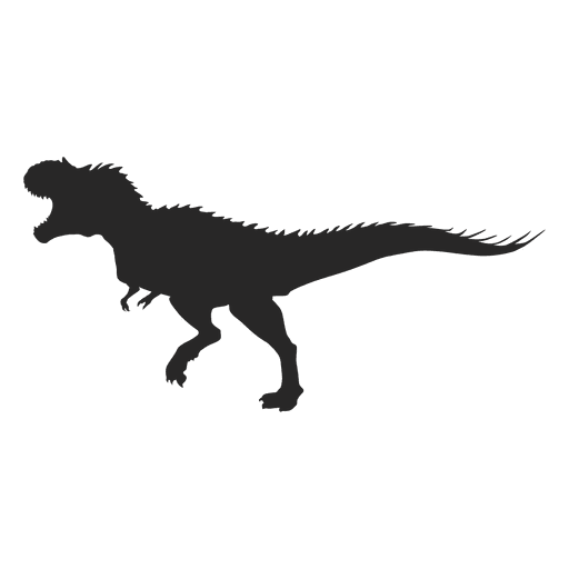 Tyrannosaur silhouette